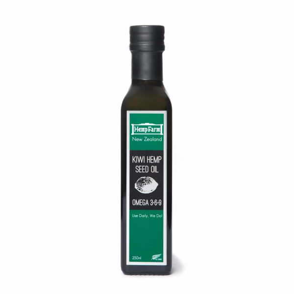 Kiwi Hemp Seed Oil 250ml 01